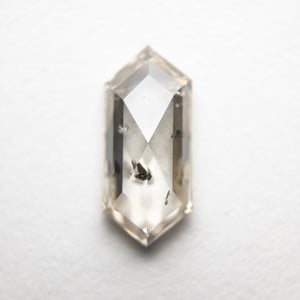 1.39ct 11.00x5.02x2.81mm Hexagon Rosecut 18369-07 - Yuliya Chorna Jewellery