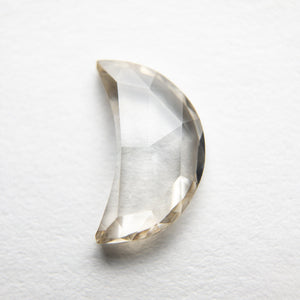1.08ct 9.62x5.72x2.03mm Crescent Moon Rosecut 18369-29 - Yuliya Chorna Jewellery