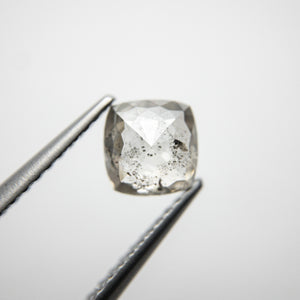 1.04ct 5.94x5.81x3.08mm Cushion Rosecut 18388-02 - Yuliya Chorna Jewellery