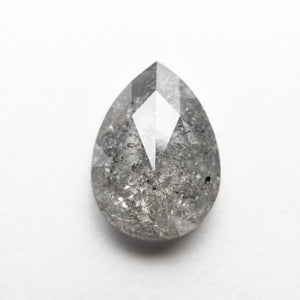 3.16ct 11.45x8.28x3.77mm Pear Rosecut 18408-01 - Yuliya Chorna Jewellery
