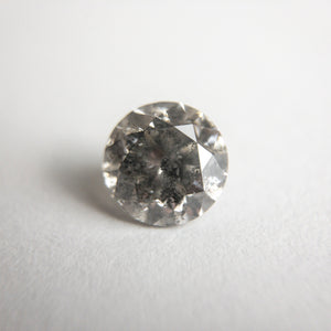 1.22ct 6.56x6.54x4.40mm Round Brilliant 18411-05 - Yuliya Chorna Jewellery