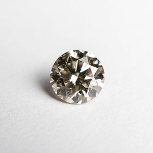 1.08ct 6.42x6.36x4.12mm VS Champagne Round Brilliant 18438-01 - Yuliya Chorna Jewellery