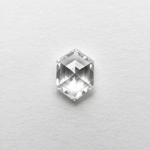0.71ct 6.57x4.69x2.78mm VS1 F Hexagon Rosecut 18458-14 🇷🇺 - Yuliya Chorna Jewellery