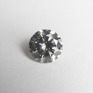 1.06ct 6.53x6.50x3.97mm SI2 Grey Round Brilliant 18462-01 - Yuliya Chorna Jewellery
