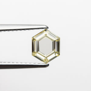 1.04ct 7.10x5.68x2.61mm VS2 Fancy Yellow Hexagon Step Cut 18469-01 🇨🇦 - Yuliya Chorna Jewellery
