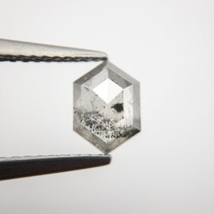 1.22ct 7.81x5.57x3.11mm Hexagon Rosecut 18491-07 - Yuliya Chorna Jewellery
