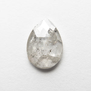 1.49ct 10.39x7.49x2.00mm Pear Rosecut 18515-01 - Yuliya Chorna Jewellery