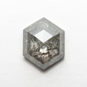 3.36ct 11.05x8.80x4.00mm Hexagon Rosecut 18523-05 - Yuliya Chorna Jewellery