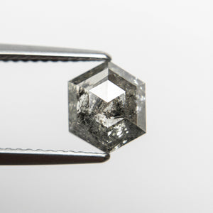 1.22ct 8.15x6.70x2.57mm Hexagon Rosecut 18523-14 - Yuliya Chorna Jewellery