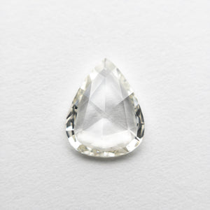 0.98ct 8.76x7.00x1.87mm VS2 M-N Pear Rosecut 18661-10 - Yuliya Chorna Jewellery