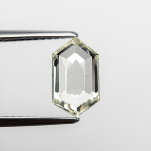 1.62ct 9.99x5.86x2.82mm SI1 Hexagon Rosecut 18663-01 - Yuliya Chorna Jewellery