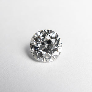 1.00ct 6.58x6.35x3.81mm GIA SI1 H Antique Old European Cut 18832-01 - Yuliya Chorna Jewellery