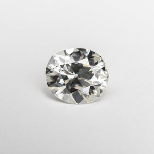 1.15ct 7.32x6.53x3.98mm SI1 K Modern Antique Old Mine Cut 18874-01 - Yuliya Chorna Jewellery