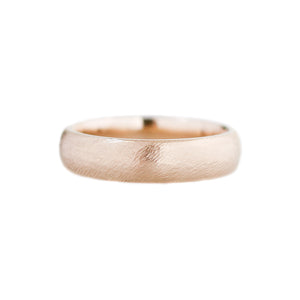 Classic Textured Wide Band - Yuliya Chorna Jewellery