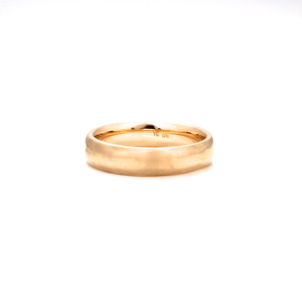 Classic Brushed Wide Band - Yuliya Chorna Jewellery