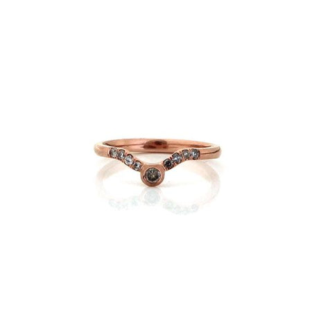 Cushion Double Claw Ring