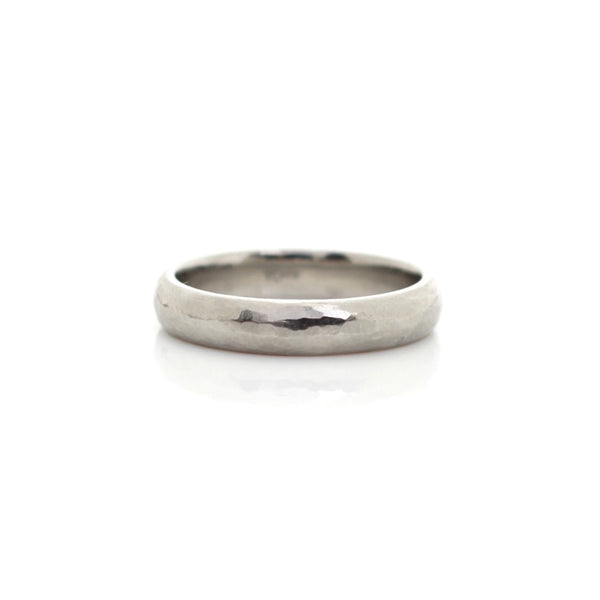 Hammered Medium Band - Ready To Ship - Yuliya Chorna Jewellery