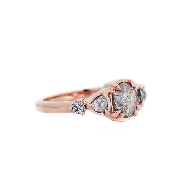 Grey Gardens Diamond Claw Ring - Yuliya Chorna Jewellery