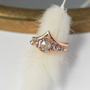 1.12ct Grey Gardens Diamond Claw Ring - Ready To Ship - Yuliya Chorna Jewellery