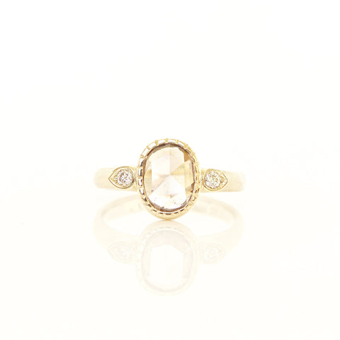 Champagne Diamond Sun Ring