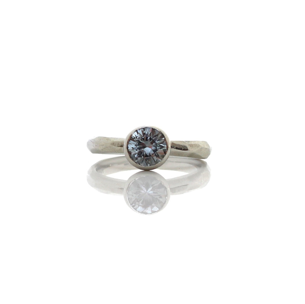 saddle beck grey anna sapphire mint ring major