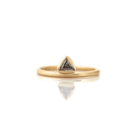 Faceted Diamond Band