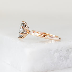 1.21ct Phoenix Rising Marquise Diamond Ring - ready to ship - Yuliya Chorna Jewellery