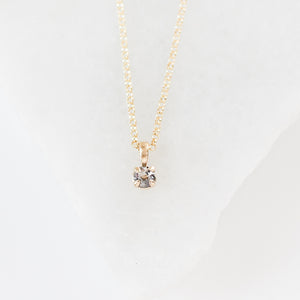 Diamond Dew Necklace - ready to ship - Yuliya Chorna Jewellery