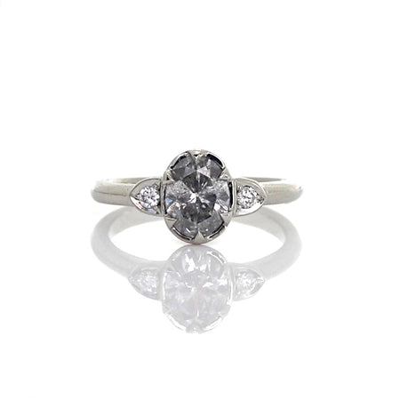 Black Swan Diamond Ring