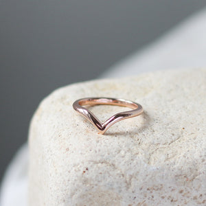 Simple Point Band - made to order - Yuliya Chorna Jewellery