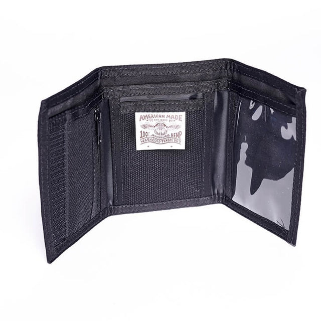 GFC Hemp Jungmaven Wallet Black