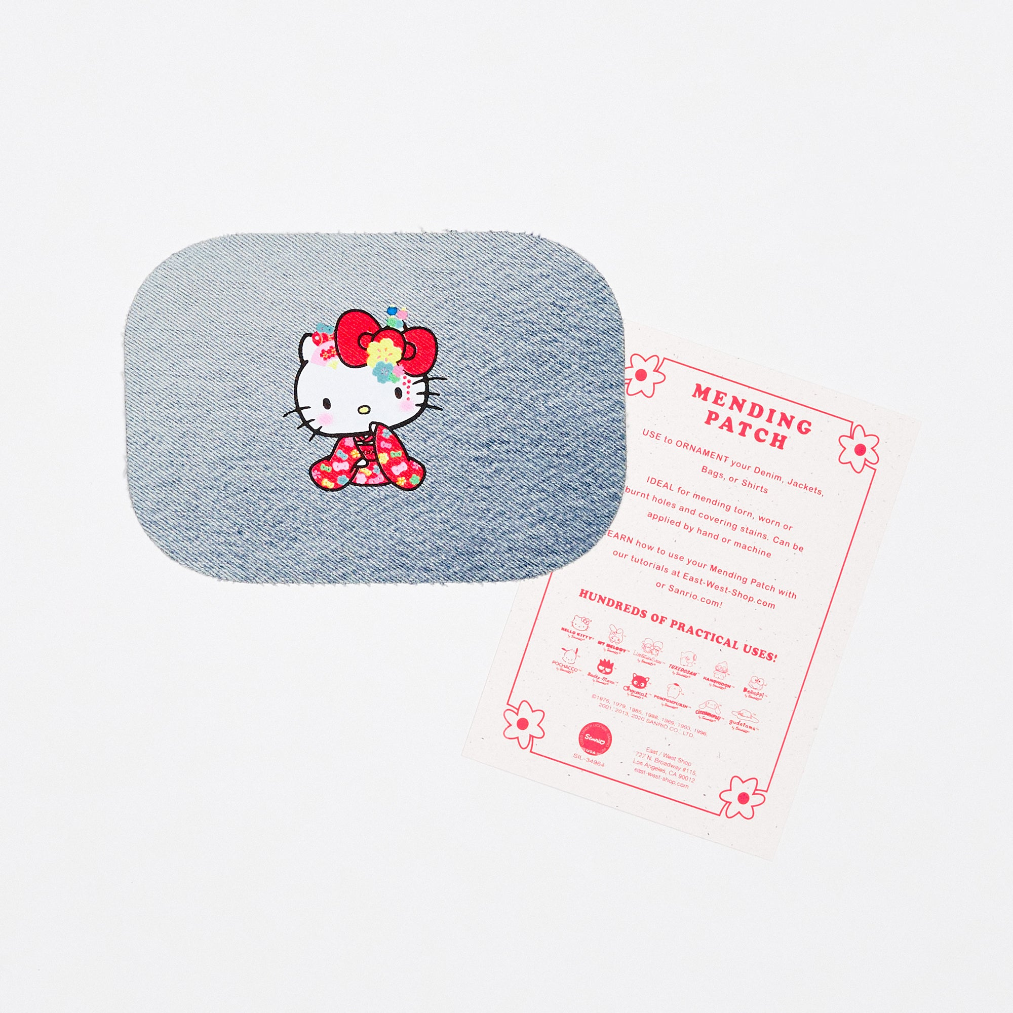 Hello Kitty 60th Anniversary Mending Patch