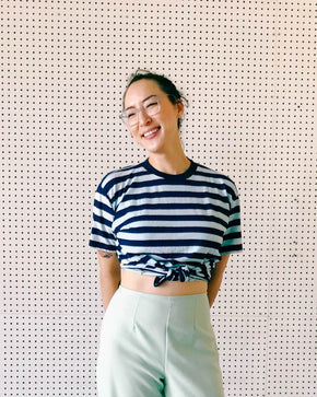 Surplus Indigo Stripe Tee