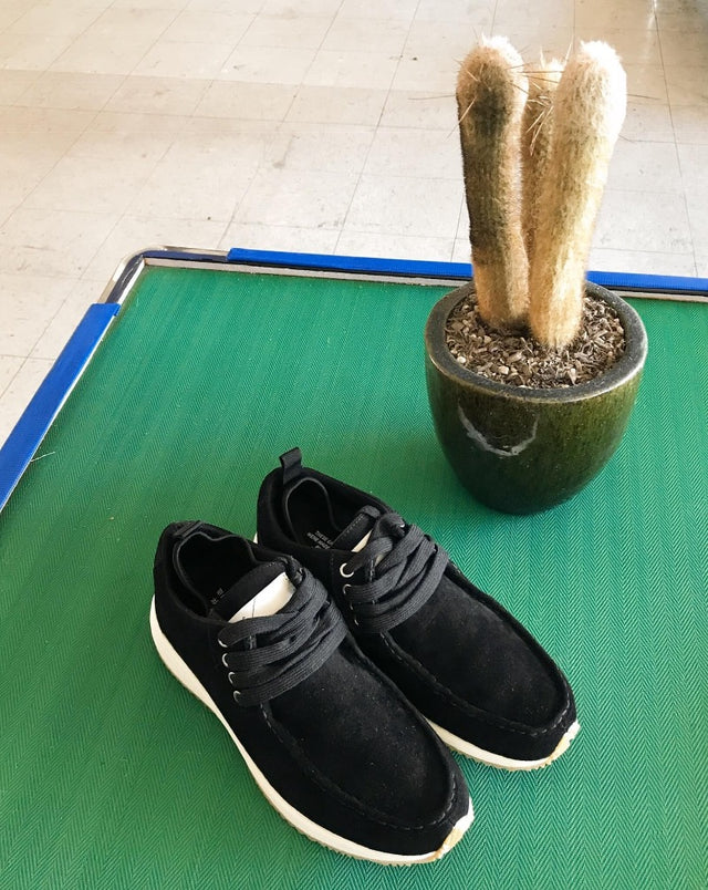 Surplus Suede Trainer - Black