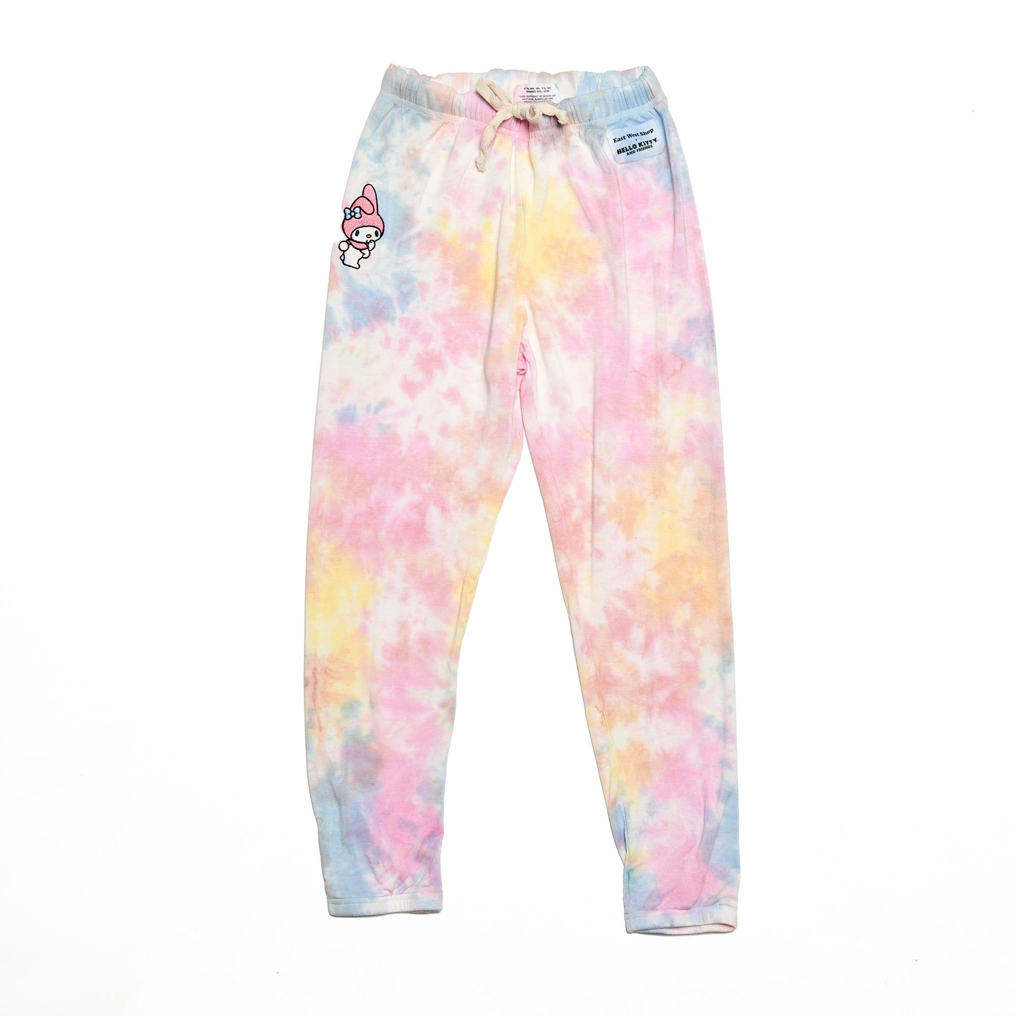 My Melody Sweatpants - Pastel Tie Dye