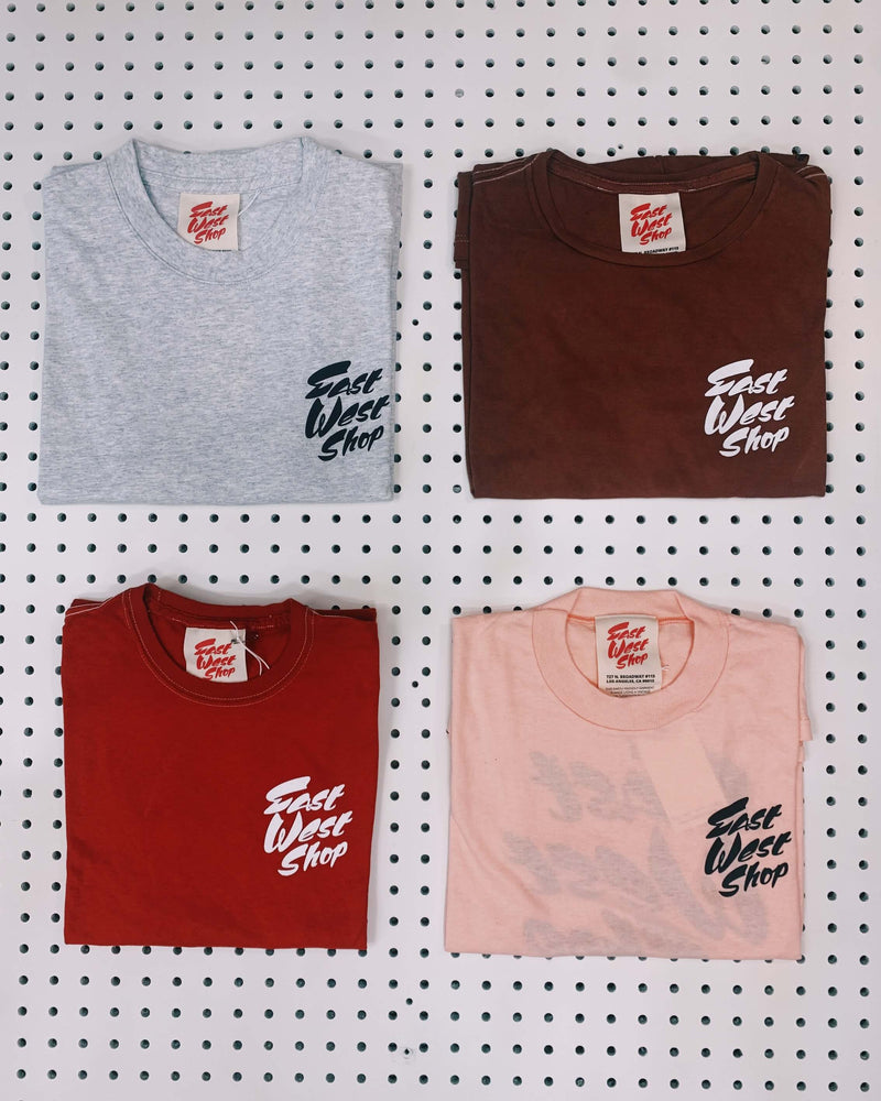 Sustainable East West Shop Tee