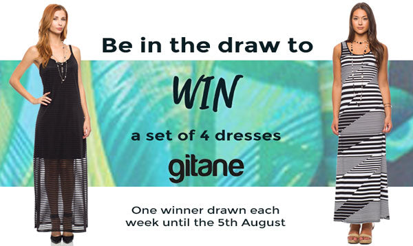 You could WIN a set of 4 Gitane dresses