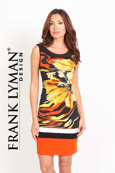 Pretty printed dress by Frank Lyman (36179)