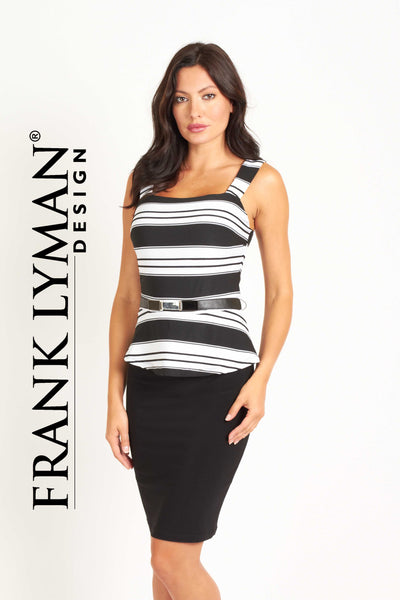 Chic 2-pieces effect dress by Frank Lyman (41673)