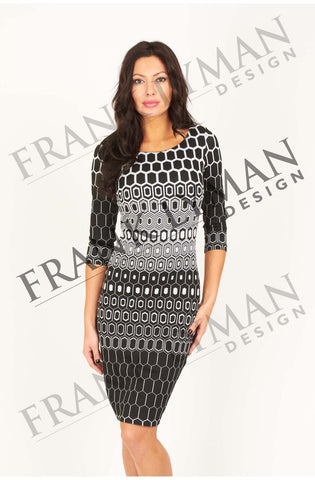 Lovely 3/4 sleeves dress by Frank Lyman (43369)