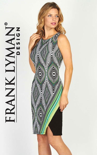 Beautiful geometrical dress by Frank Lyman (56386)