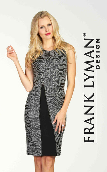 Chic sleeveless dress by Frank Lyman (64369)