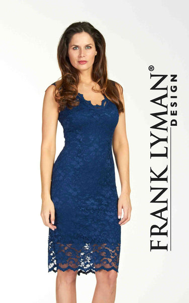 Stunning blue dress by Frank Lyman (64633)