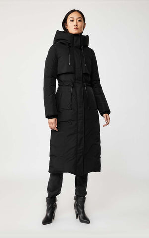 Mackage Down Winter Maxi-Length Coat Leanne