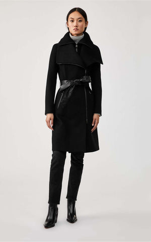 Mackage Wool Winter Coat Nori-K