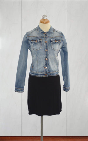 Point Zero veste de printemps en denim 8058011