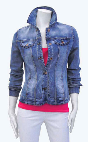Point Zero veste de printemps en denim 8258005