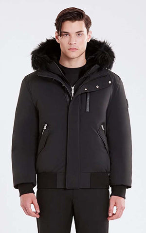 RUDSAK Down WinterJacket with fur Stephan 6119566
