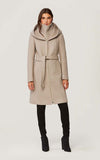SOIA & KYO Wool Coat Adison