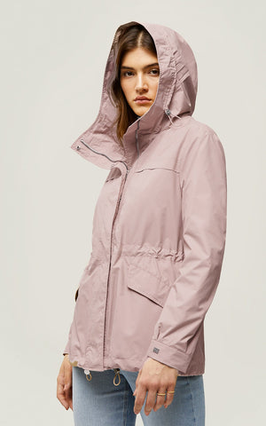 SOIA & KYO Water resistant jacket- Joselyn